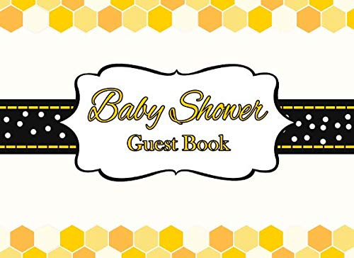 Baby Shower Guest Book: Gender Neutral Bee Advice for Parents and Gift Log ()