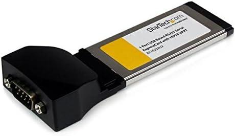 StarTech.com Tarjeta Adaptadora ExpressCard/34 de 1 Puerto Serie ...