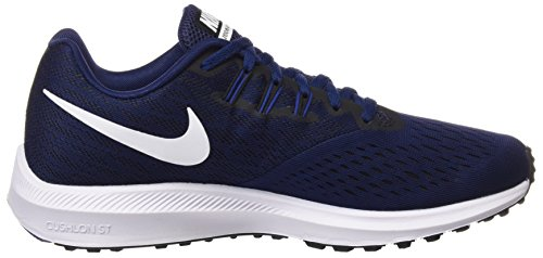 White Deep Black Binary da Royal Nike Uomo Zoom 4 Winflo 400 Scarpe Running Multicolore Blue Trail Blue OWPqwS47x