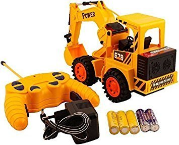 Buy Higadgettm Power Remote Controlled Battery Operated Jcb Truck