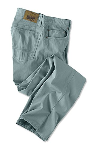 Orvis Men's 1856 5-Pocket Bedford Cords, Bay Blue, 34, Inseam: 32 Inch ()