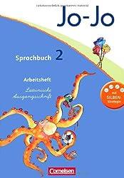 Jo-Jo Sprachbuch - Aktuelle allgemeine Ausgabe: 2. Schuljahr - Arbeitsheft in Lateinischer Ausgangsschrift: Mit Lernstandsseiten