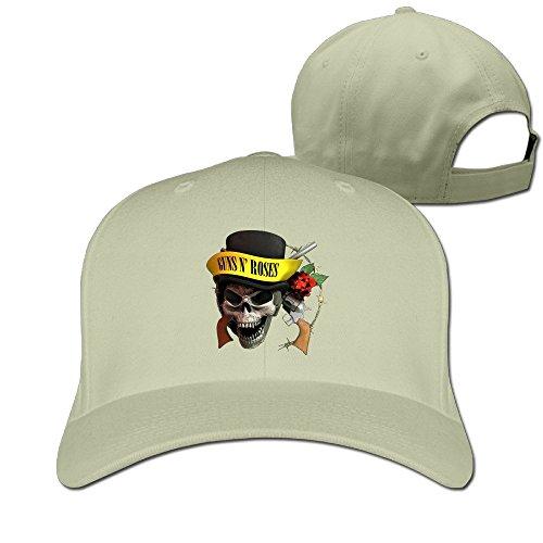 Unisex Guns N' Roses Skull Logo Appetite For Destruction Adjustable Hat Peaked Hat