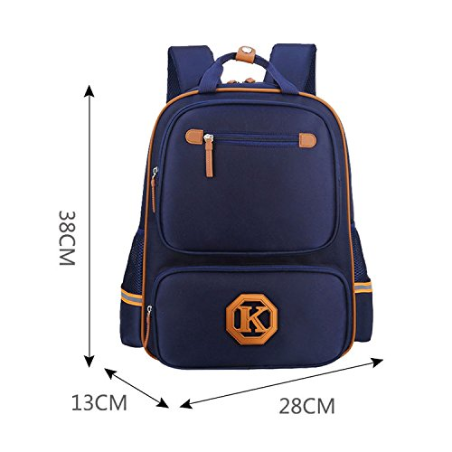 Women Backpack School Bags Teenagers Orthopedic Children School Backpacks Men School Bags Girls And Boys Bag Small Royal Blue ()