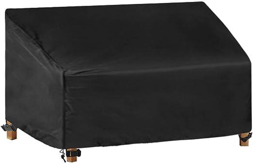 3 posti Panca da Giardino All/'aperto Cover Impermeabili mobili per resistente alle intemperie Covers