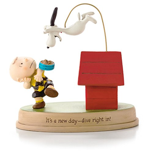Hallmark Charlie Brown and Snoopy It's a New Day - Dive Right in Figurine