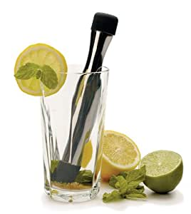 Stainless Steel Hand Held Mojito Muddler by RSVP
