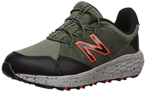 New Balance Boys' Craig V1 Running Shoe, Mineral Green/Black/HI-LITE, 5 W US Toddler