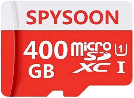 Micro SD SDXC Card 400GB High Speed Class 10 Memory Micro SD Card with SD Adapter (400GB)