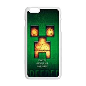 Happy Creeper Case Cover For iPhone 6 Plus Case