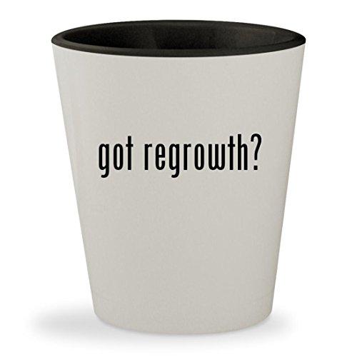 got regrowth? - White Outer & Black Inner Ceramic 1.5oz Shot (Provillus Minoxidil)