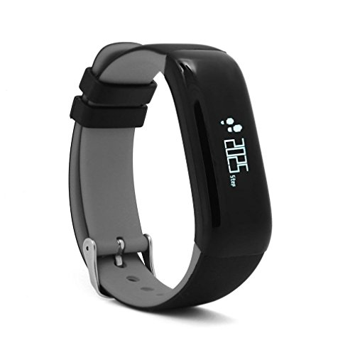 GUOPENGFEI Smart Bracelet P1 Pression artérielle Heart Rate Sleep Monitor Waterproof Pedometer Rappel d'appel Smart Band pour Android iOS