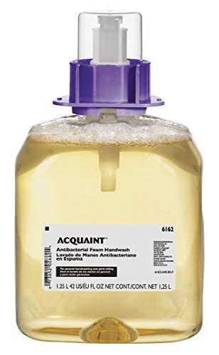 Acquaint Antibacterial Soap Refill, Fruity Fragrance, 1250mL, EA 1-6162-04, (Pack of 2)