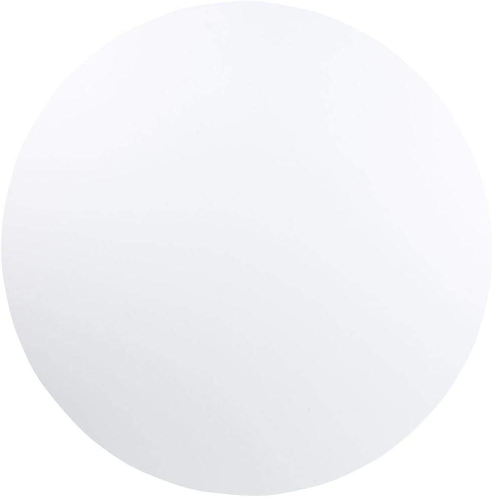 Flash Furniture 5-Foot Round Granite White Plastic Folding Table