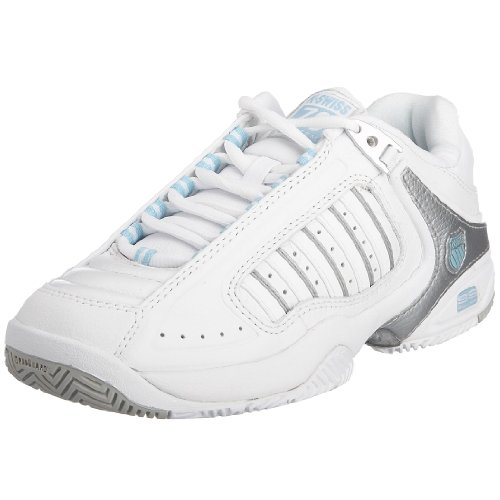 Amazon.com | K-Swiss Defier RS Womens Tennis Shoes, White, US6.5 | Tennis & Racquet Sports
