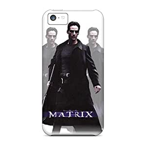 Durable Protector Case Cover With Matrix Hot Design For Iphone 5c
