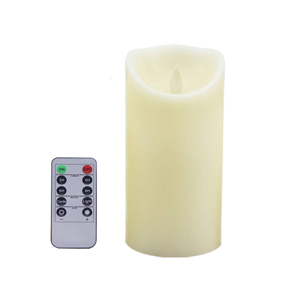 Nice remote candle