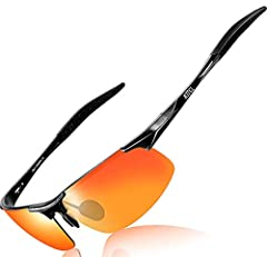 The Sunglasses for Men are Fashion Cool Metal-Frame design;Target User for Fishing, Golf, Cycling, Running, Driver Sunglasses and all Active Outdoor lifestyles! Brand: ATTCL Design From Italy Frame Material: Aluminum-magnesium Lens  100% UV p...