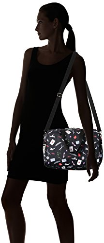 Bag Letters One Love Size Melanie Cheetah Cross Body Violet LeSportsac gwAqztpnv