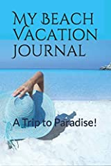 """This Vacation Journal is a 6"""" by 9"""" blank, lined, paperback notebook. It's a great way keep notes about your future vacation or Journal the trip itself. It's small enough to fit in your purse, beach bag or backpack. It's BLANK inside with 123..."""