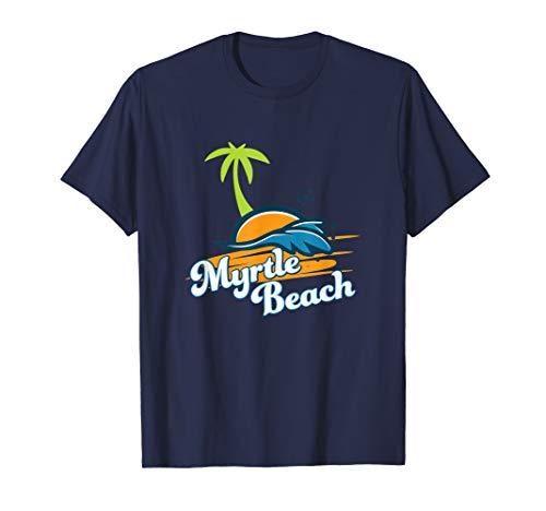 Myrtle Beach SC Summer Vacation Souvenir T-Shirt (Sc Myrtle Orlando To Beach Fl)