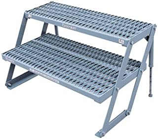 product image for Cotterman 2-Step Adjustable Work Platform - 800-Lb. Capacity, 13-21in.H, Model Number 2AWP3612A3 A1321 C1P6