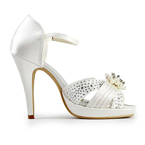 Sandales 10cm pour White Minitoo femme Heel HdBPWwq