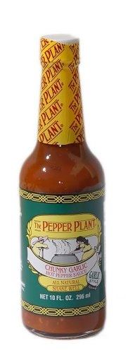 The Pepper Plant: Chunky Garlic Hot Pepper Sauce 10 Oz. (6 ()