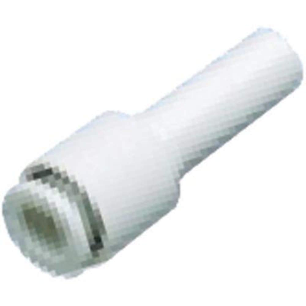 Fitting; Plug-in-Reducer; Plastic Body; Tube 1/8''; Port 1/4''; KQ2 Series, Pack of 20