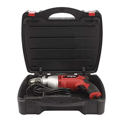 SKIL 1/2-inch Corded Hammer Drill w/ 100-Piece Accessory Set and Hard Case, 7-amp Variable Speed (6445-05)
