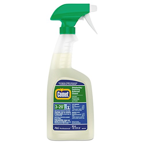 Comet Disinfecting Cleaner - Comet 22569CT Disinfecting-Sanitizing Bathroom Cleaner, 32 oz. Trigger Bottle (Case of 8)