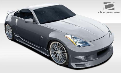 - Duraflex ED-HQR-954 J-Spec Body Kit - 4 Piece Body Kit - Compatible For Nissan 350Z 2003-2008