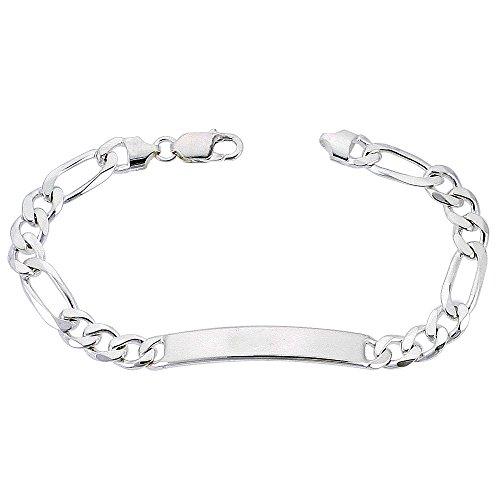 Sterling Silver ID Bracelet Fi