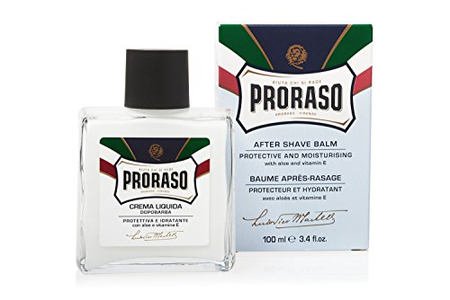 Proraso After Shave Balm, Protective and Moisturizing, 3.4 Fl Oz (Best Smelling Aftershave Balm)