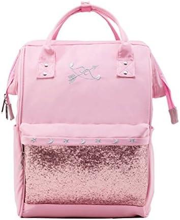 JG GJ Backpack - Sweet Student Bag Female Shoulder Bag High Capacity Casual  Traveling Backpack (Color : Pink): Amazon.co.uk: Kitchen & Home