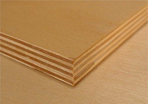 Baltic Birch Plywood 2 Sheets 1/8 X 20 X 30 WOODNSHOP CECOMINOD073691