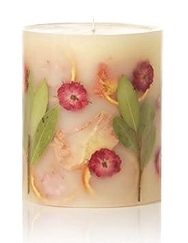 Rosy Rings Botanical Candle Peony /& Pomelo