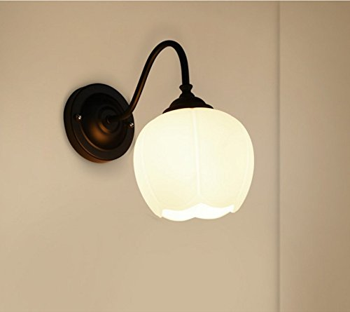 Meiren wall light sconce lamp lighting retro hall iron industrial meiren wall light for living room bedroom retro aisle 1 head rustic rusticside mirror black mozeypictures Gallery