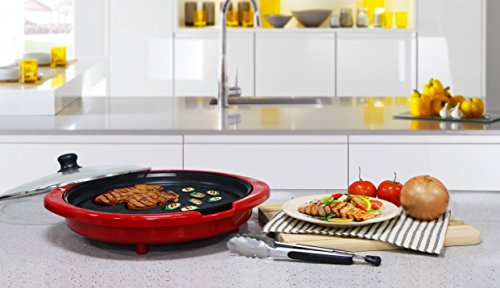 Elite Gourmet EMG-980R Indoor Grill, Red by Maxi-Matic (Image #6)