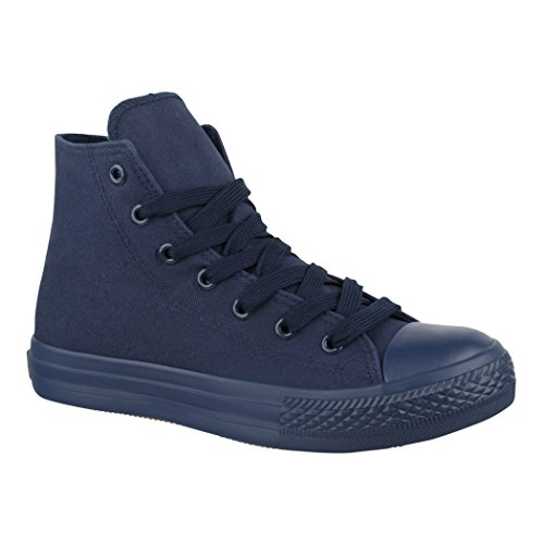 Sneaker colour one Donna Elara Dunkelblau xf8w0vTdwq