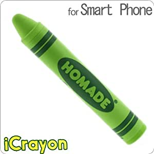 iCrayon Stylus Pen for Smartphones and Tablets (Green)
