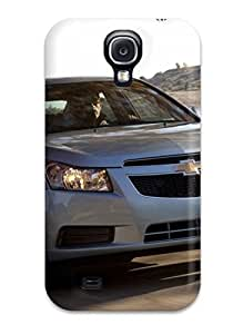 linJUN FENGGalaxy S4 Case Cover - Slim Fit Tpu Protector Shock Absorbent Case (chevrolet Cruze )