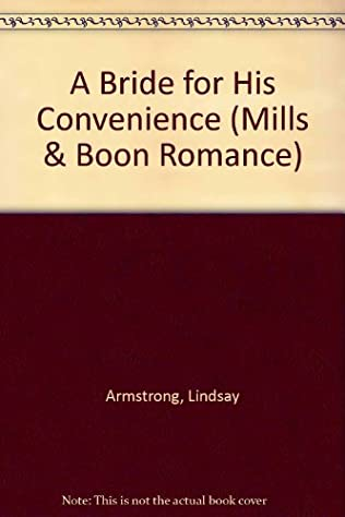 book cover of A Bride for His Convenience