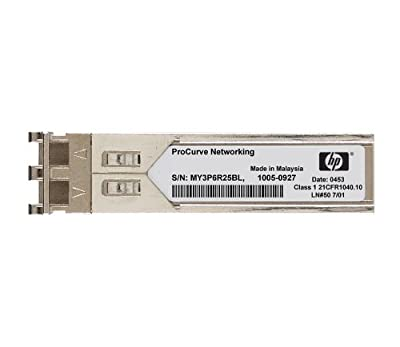 HP SFP Mini-GBIC 1 x 1000 Base-LX Transceiver Module (JD494A)