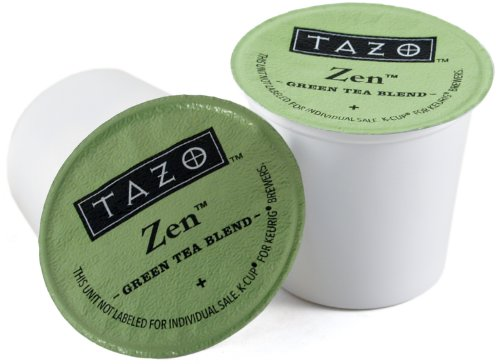 Tazo Zen Green Tea Keurig K-Cups, 32 Count (Tazo Zen Full Leaf Tea compare prices)