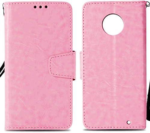 iPhone 7 レザー ケース, 手帳型 アイフォン 7 本革 スマホケース 防指紋 ビジネス 財布 カバー収納 無料付スマホ防水ポーチIPX8 灰3