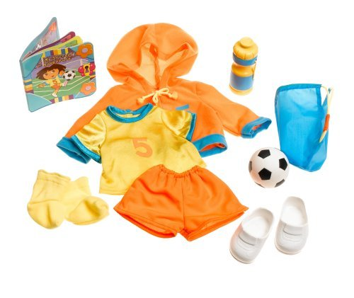 Fisher Price Dress-up Adventure Soccer Outfit by Dora the Explorer