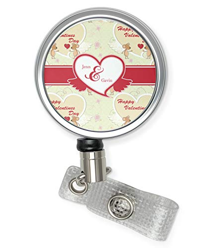 Mouse Love Retractable Badge Reel (Personalized)