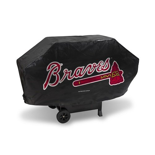 Atlanta Braves Deluxe 68-inch Grill Cover