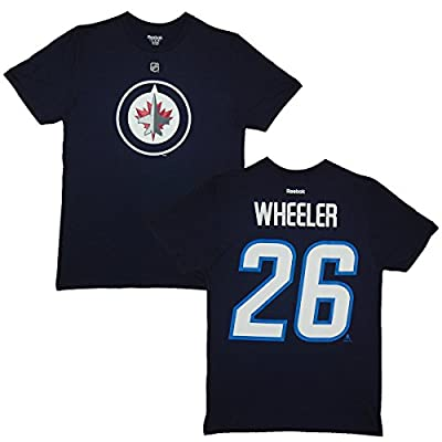 Winnipeg Jets Blake Wheeler Blue Name and Number T-Shirt (2X)